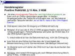 handelsregister positive publizit t 15 abs 3 hgb