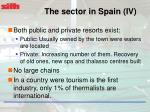 the sector in spain iv