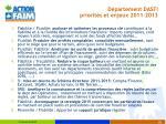 d partement dasfi priorit s et enjeux 2011 2013