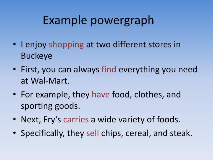 Example powergraph