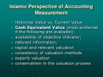 islamic perspective of accounting measurement1