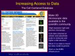 increasing access to data