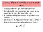 campo b generato da una carica in moto1