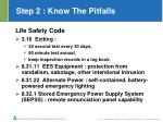 step 2 know the pitfalls5