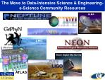 the move to data intensive science engineering e science community resources
