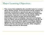 major learning objectives2