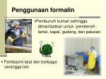 penggunaan formalin
