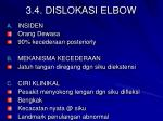 3 4 dislokasi elbow