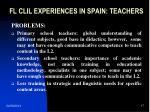 fl clil experiences in spain teachers