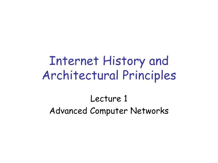 the history and advancements of computers and the internet