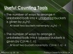 useful counting tools