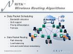 rita wireless routing algorithms