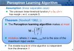perceptron learning algorithm3