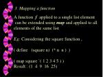 3 mapping a function