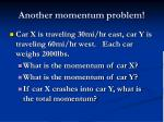 another momentum problem