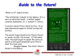 guide to the future
