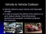 vehicle to vehicle collision