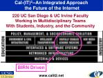 cal it 2 an integrated approach the future of the internet