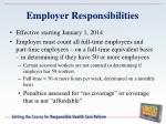 employer responsibilities1