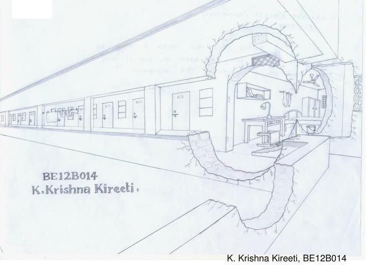 K. Krishna Kireeti, BE12B014