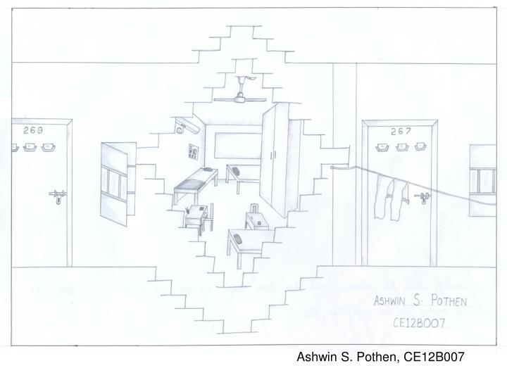 Ashwin S. Pothen, CE12B007