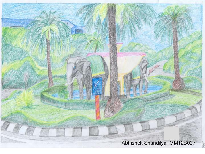 Abhishek Shandilya, MM12B037