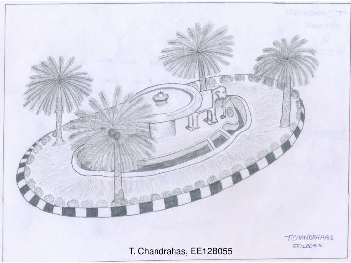 T. Chandrahas, EE12B055