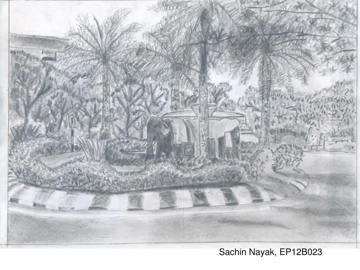Sachin Nayak, EP12B023