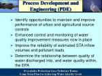process development and engineering pde1