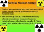 safety nuclear energy