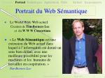 portrait du web s mantique