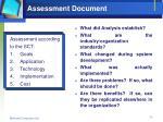 assessment document1