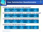 user satisfaction questionnaire1