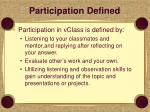 participation defined