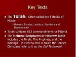 key texts