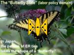 the butterfly state labor policy domain