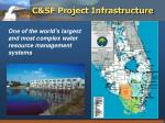 c sf project infrastructure