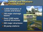 central and southern florida project