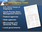 interagency team