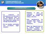 financiamiento de servicios personales10