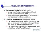 overview of majordome
