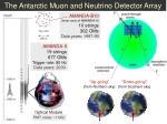 the antarctic muon and neutrino detector array