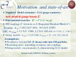 motivation and state of art