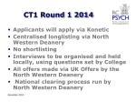 ct1 round 1 2014