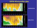 iop2b wind profiler data