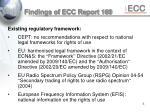 findings of ecc report 169