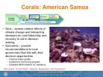 corals american samoa