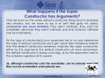 what happens if the super constructor has arguments5