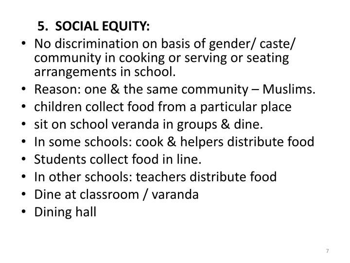 5.  SOCIAL
