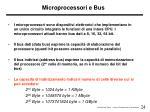 microprocessori e bus